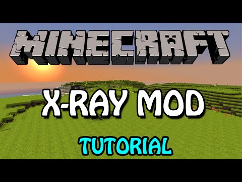Minecraft 1.8.1: X-Ray Mod Tutorial (Download + Installation)