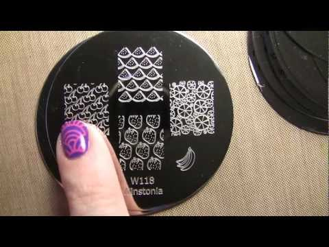 Winstonia 2013 Nail Stamping Plates