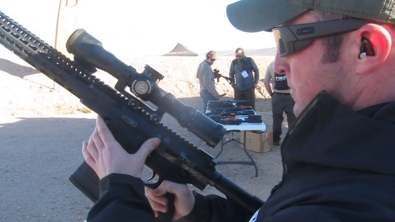 Shot Show Daniel Defense Dvv Ar Rifle Youtube