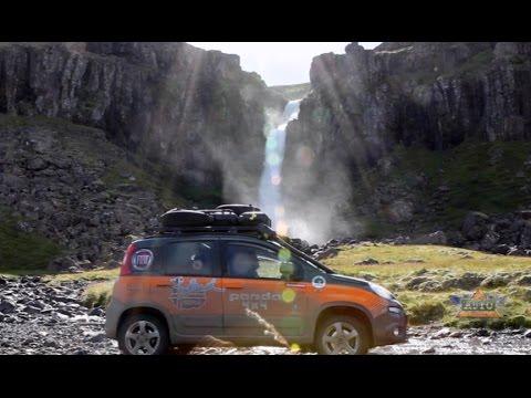 Fiat Panda 4x4 In Iceland Youtube