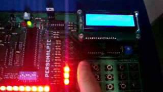 KIT DE DESENVOLVIMENTO PERSONALPIC PARA MICROCONTROLADORES PIC  DE 8/18/28/40
