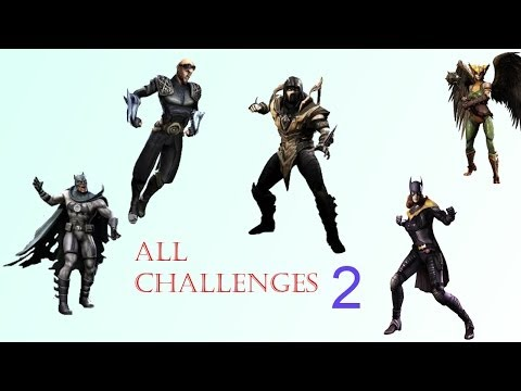How To Unlock Previous/Future Challenges In Injustice iOS - Version 2