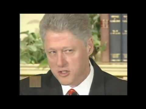 Bill Clinton Lying: I Did Not Have Sexual Relations with that Woman