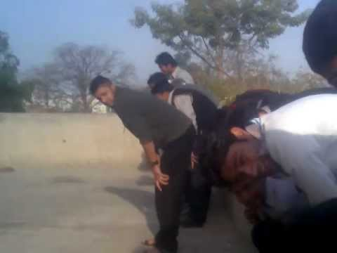 Gujranwala college of commerce punished students