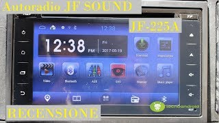 Autoradio Android JFSOUND JF-225A, recensione completa