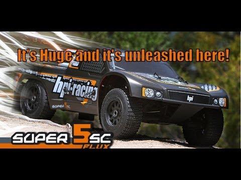 HPI 1/5 Super 5SC Flux 2.4GHZ RTR - Unleashed!