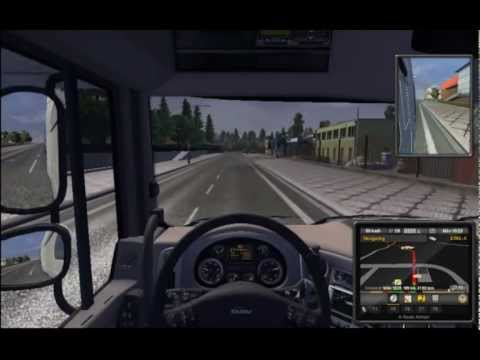 Euro truck simulator 3 - Gameplay - YouTube