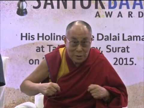 Dalai Lama calls for peaceful relations between India and China