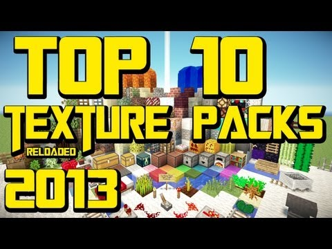 MINECRAFT TOP 10 TEXTURE PACKS [1.7.5] [Reloaded] + Download [HD] [German/Deutsc