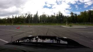 PCA autocross Tank In a GTR - Wasilla High School