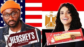 Americans & Egyptians Swap Snacks