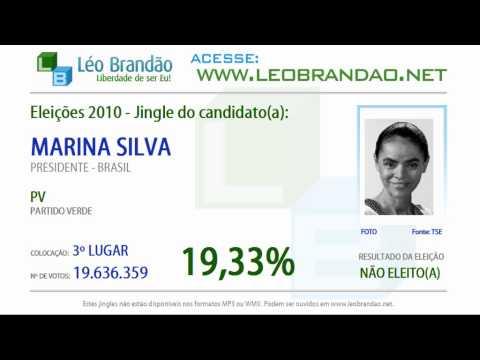 Jingles Eleições 2010 - Marina Silva - PV - leobrandao.net