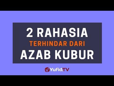 2 Rahasia Terhindar dari Azab Kubur (Siksa Kubur) – Poster Dakwah Yufid TV