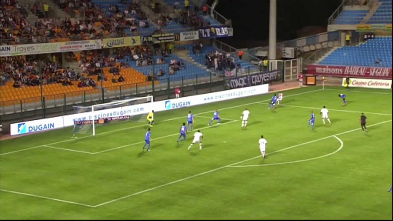 estac troyes fc lorient 2 2 highlights 2012 13