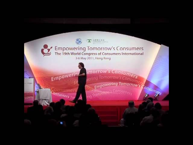 Futurist Gerd Leonhard: Consumer Empowerment in the Networked Society (Keynote at CI Congress 2011)