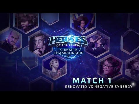 Renovatio Vs Negative Synergy - Game 1 - Group A - Global Summer Championship