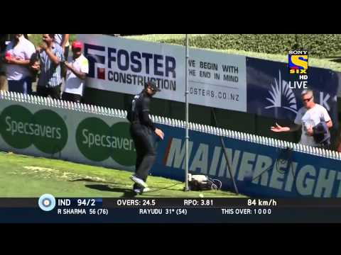 India vs New zealand 4th ODI Highlights HD | 28 jan 2014 | India batting Full Highlights