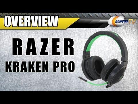 RAZER Kraken Pro Circumaural Analog Gaming Headset Overview - Newegg TV
