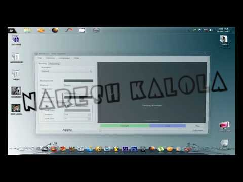How to Make your Own Windows 7 Boot Screen