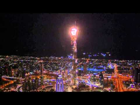 Tamil Song Intro Opens 2014 New Year Fireworks At  Burj Khalifa video