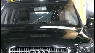 Краш тест Audi Q7 2006 (E-NCAP)