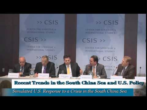 Recent Trends in the South China Sea and U.S. Policy: Panel 4, Simulation