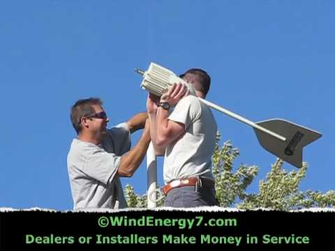 Residential Home Wind Turbine