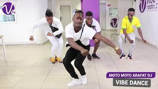 """Démo """" Moto Moto """"  : les danseurs d'Arafat impressionnent  à Vibe Radio Côte d'ivoire"""