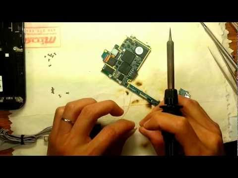 Samsung T989 Galaxy S2 brick power repair by JTAG in Toronto