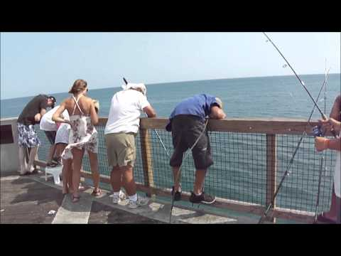 King Mackerel & Redfish @ Navarre Beach Fishing Pier 6/30/11