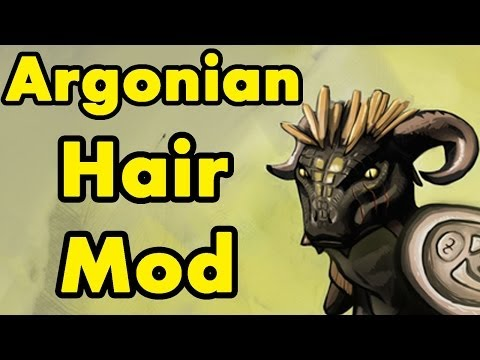 Skyrim: Argonian Hair Mod Spotlight Review
