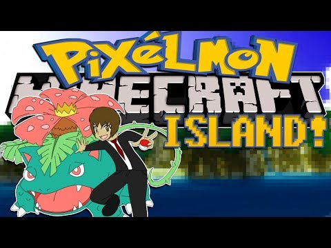 Minecraft: Pixelmon Island (Pokemon Mod) #4 HEALING TREE QUEST!