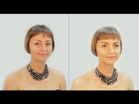 Как сделать естественный макияж  макияж Nude  красивый макияж  видеоурок по макияжу