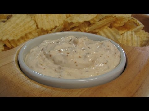 Onion Dip -- Lynn's Recipes Super Bowl