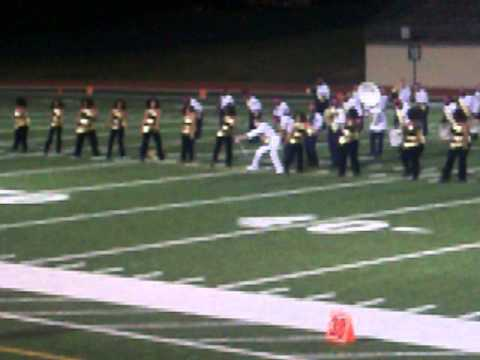 Northern High School Marching Band Halftime Show 2012