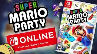 Super Mario Party for Switch has ONLINE CONFIRMED