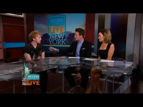 "Rupert Grint talks about ""It's Only A Play"""
