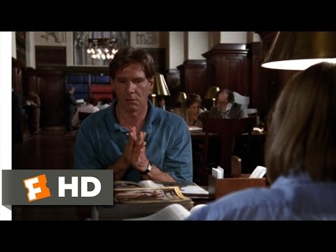 Regarding Henry (3/8) Movie CLIP - Messing Around in the Library (1991) HD
