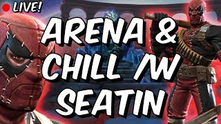 Maze Pre-Hype Arena & Chill /w Seatin - Marvel Contest Of Champions