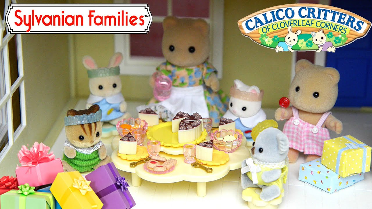 Sylvanian families dining room set