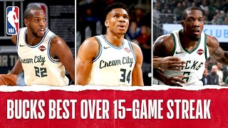 Best Plays from the Milwaukee Bucks' 15 Game Winning Streak | 2019-20 NBA Season