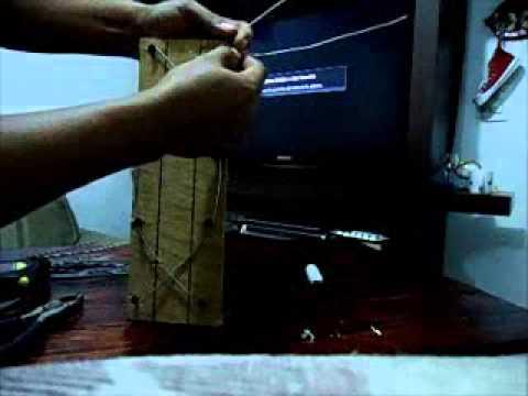 antena casera para señal abierta TV HD