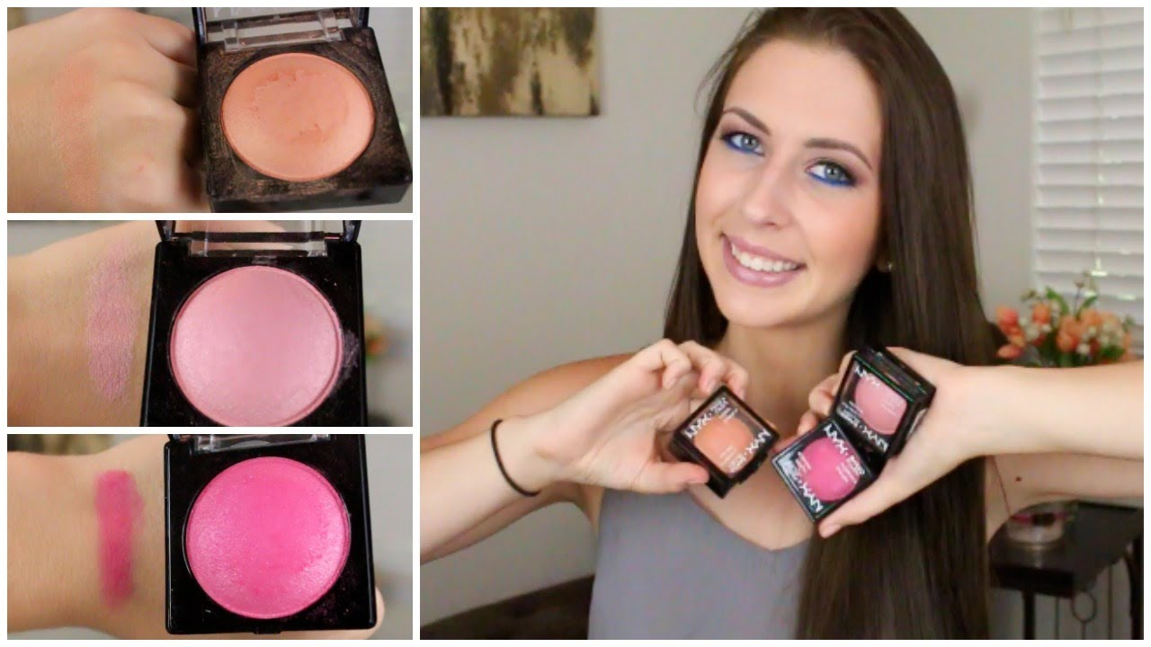 Nyx Baked Blush Ignite Nyx Baked Blushes Review