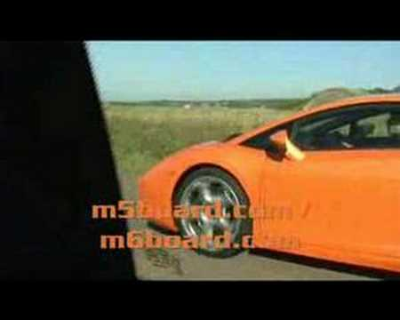 M6BOARD.com presents: BMW M6 vs Lamborghini Gallardo Video