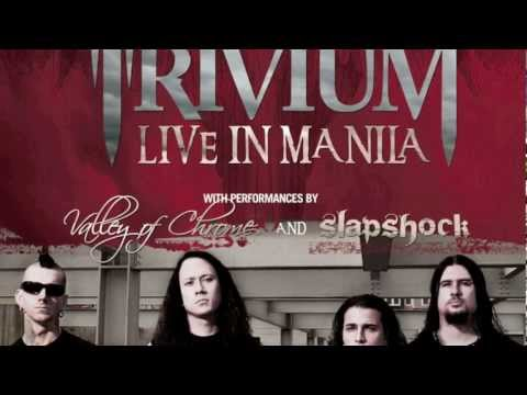 Trivium Live in Manila - Matt Heafy Gives a Shout Out to Filipino Fans!