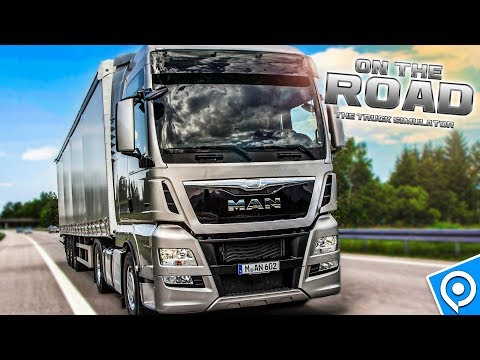 TRUCK SIMULATOR: On The Road mit Fahrtenschreiber und mehr! | LKW-Simulator OTR