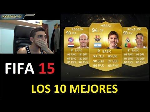 FIFA 15 | LOS 10 MEJORES JUGADORES | DjMaRiiO