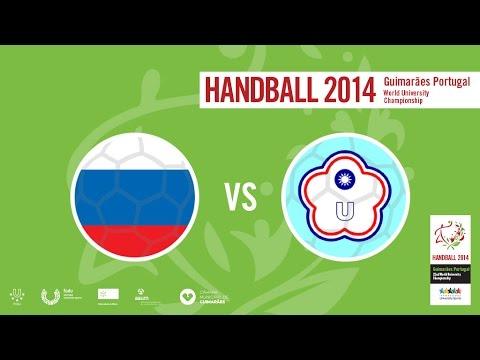 Russia vs Chinese Taipei   Male   Quarter-Final 3   INATEL Sports Hall