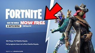 How To Get Fortnite Save The World For Free! (XBOX, PS4, PC) *v6.10*