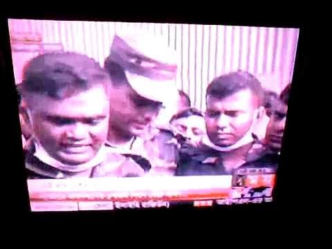 News Briefing After Saving Reshma - Savar - Rana Plaza Tragedy